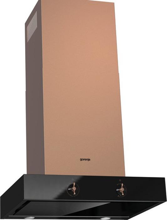 Встраиваемая вытяжка Gorenje WHT68AINB, коричневый вытяжка встраиваемая gorenje bhp623e12x