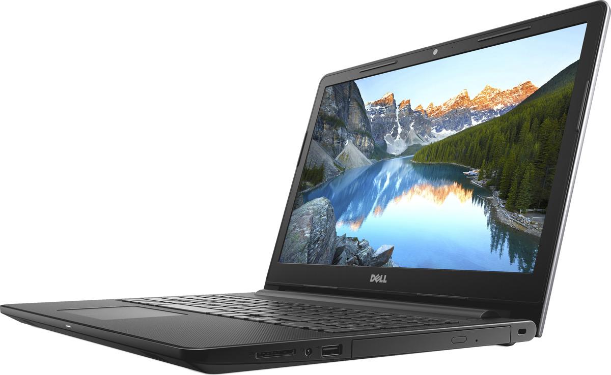 Ноутбук Dell Inspiron 3573 3573-6021, серый ноутбук dell inspiron 3573 3573 5468 black intel celeron n4000 1 1 ghz 4096mb 500gb dvd rw intel hd graphics wi fi bluetooth cam 15 6 1366x768 windows 10 64 bit