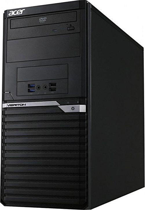 Системный блок Acer Veriton VM4650G i5-6500, DT.VQ8ER.079 системный блок acer veriton m4640g mt i7 6700 3 4ghz 8gb 1tb intel hd win10pro клавиатура мышь черный dt vn0er 127
