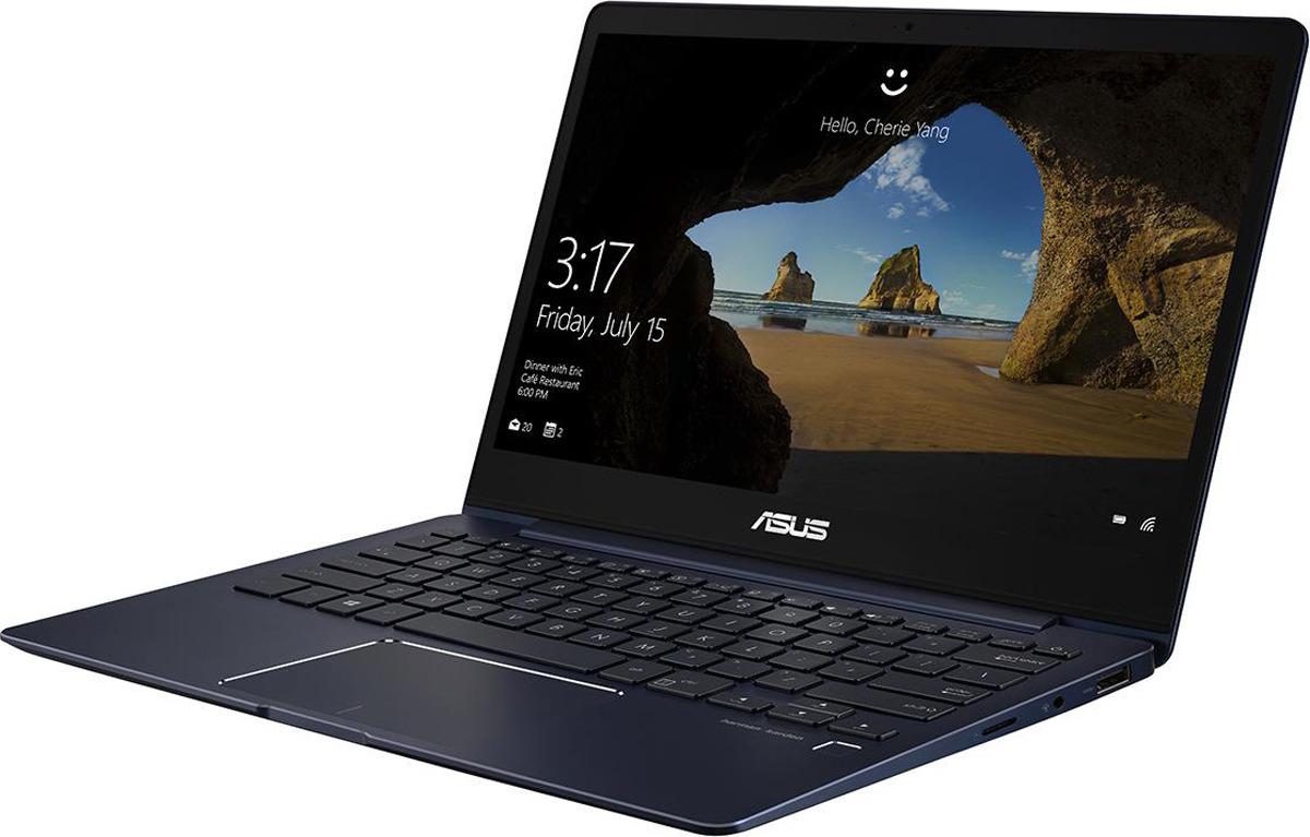 13.3 Ноутбук ASUS ZenBook 13 UX331UN 90NB0GY1-M04290, синий цена