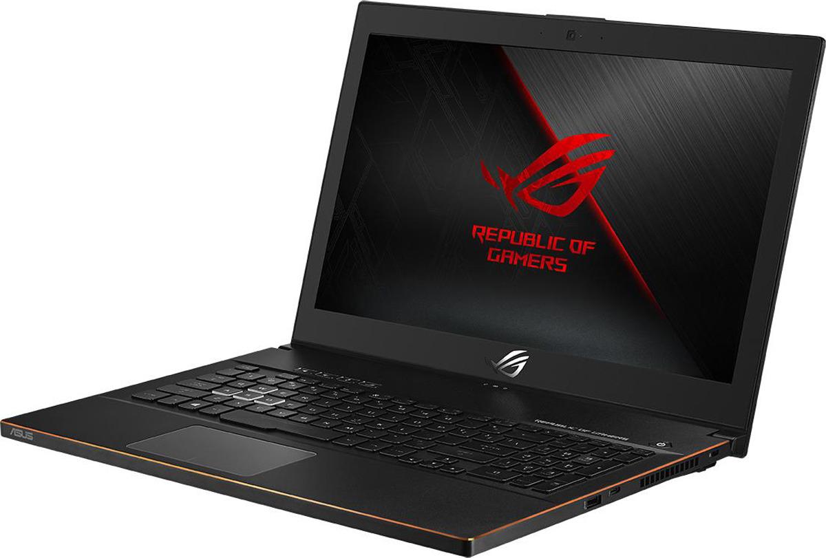 15.6 Игровой ноутбук ASUS ROG Zephyrus M GM501GM 90NR00F1-M01820, черный zephyrus ноутбук