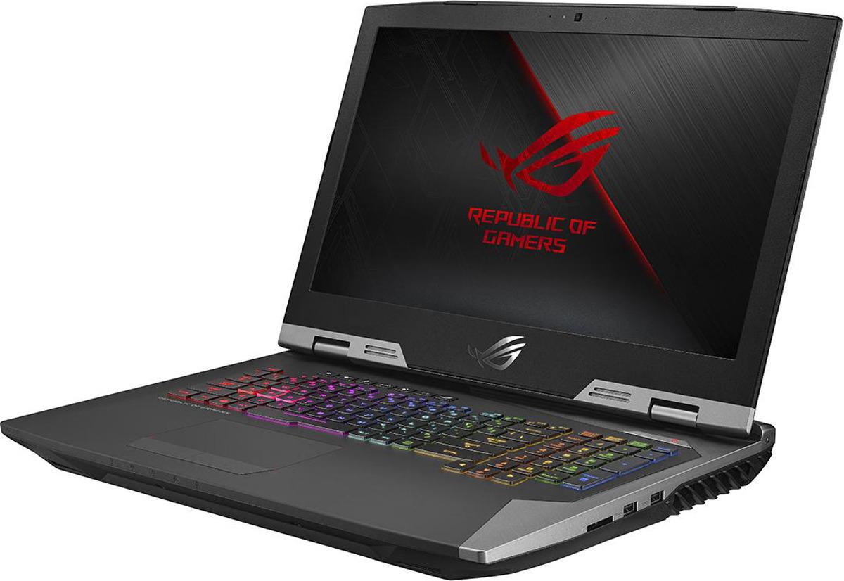 Игровой ноутбук ASUS ROG Chimera G703GS 90NR0091-M00900, черный цена и фото