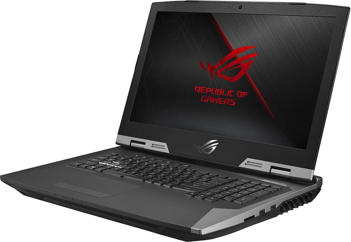 Игровой ноутбук ASUS ROG Chimera G703GI, 90NR0HJ1-M03050, 17.3, черный док станция asus 90ac0350 bds001 asus rog phone черный