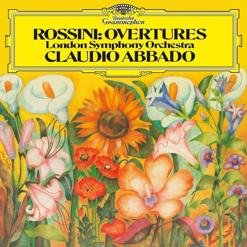 Клаудио Аббадо Claudio Abbado. Rossini. Overtures (LP) ховард хэнсон eastman rochester orchestra howard hanson chadwick symphonic sketches macdowell suite for large orchestra peter sinfonia in c