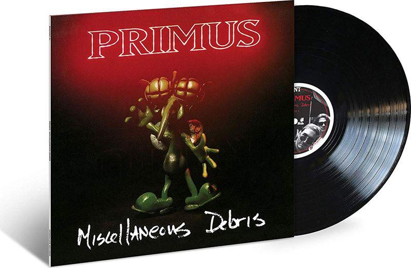 Primus Primus. Miscellaneous Debris (LP) primus primus antipop 2 lp