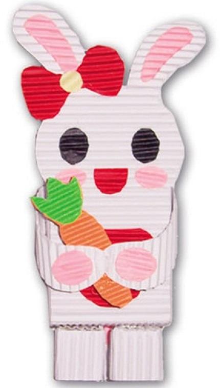"""Набор для детского творчества Феникс+ """"Зайка"""" 23882, из цветного картона"""