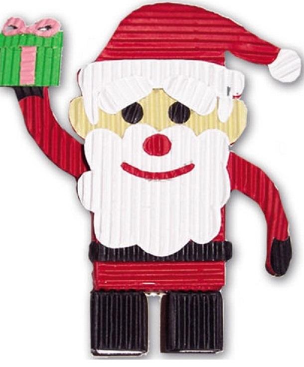 """Набор для детского творчества Феникс+ """"Санта"""" 23880, из цветного картона"""