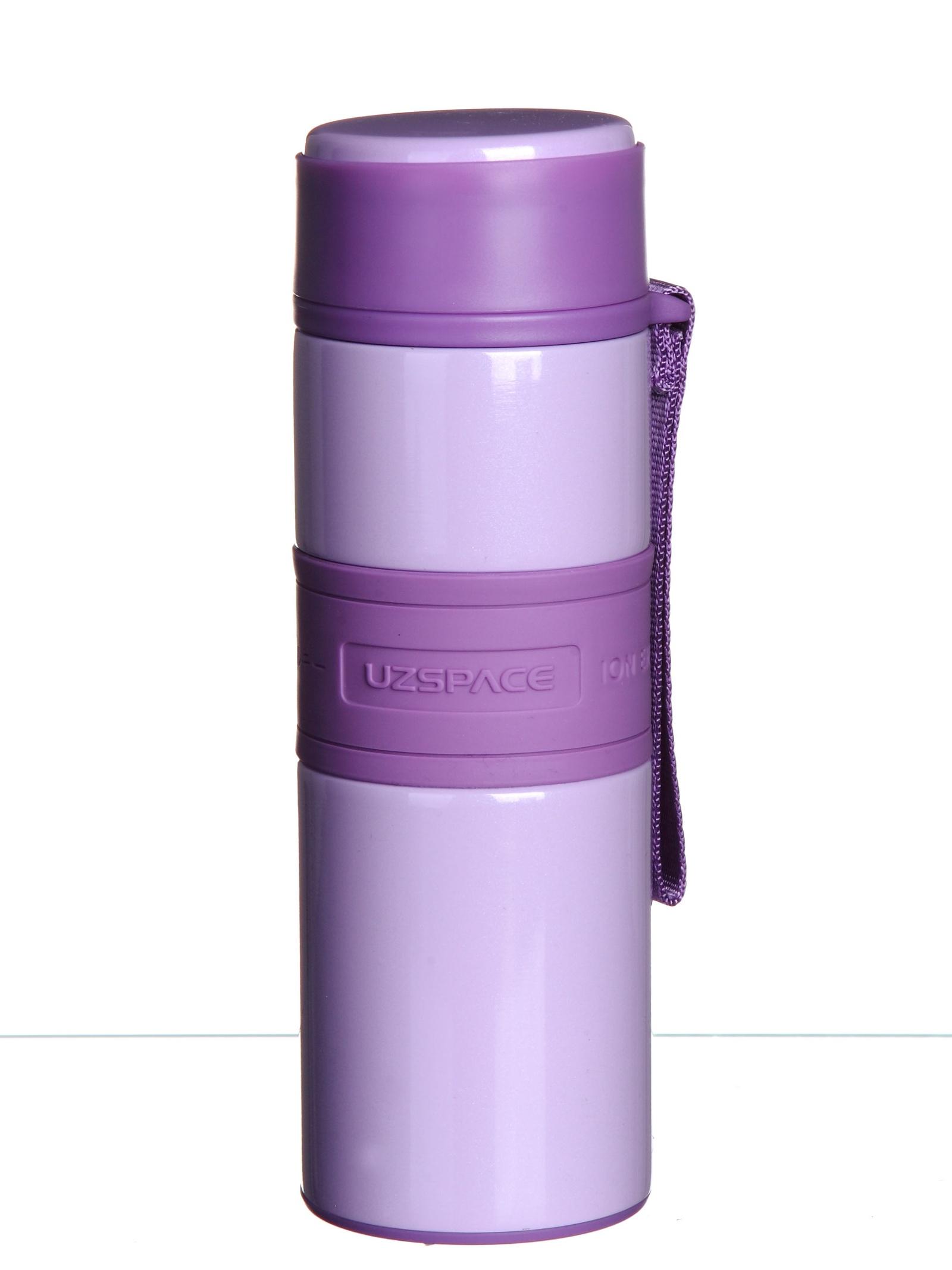 Термос Uzspace, 4060, фиолетовый, 220 мл