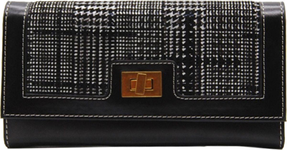 Кошелек женский Cheribags, 04К-155-10, черный кошелек ключница женский cheribags 04к 3111 13 желтый