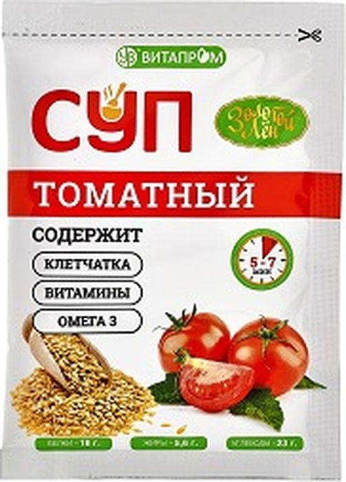 Суп быстрого приготовления Золотой Лен, томатный, 20 г Золотой Лен