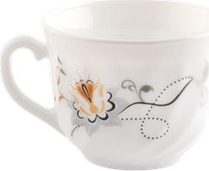 """Чашка чайная Miolla """"Орхидея"""", XWB190/6/2406, белый, 190 мл"""