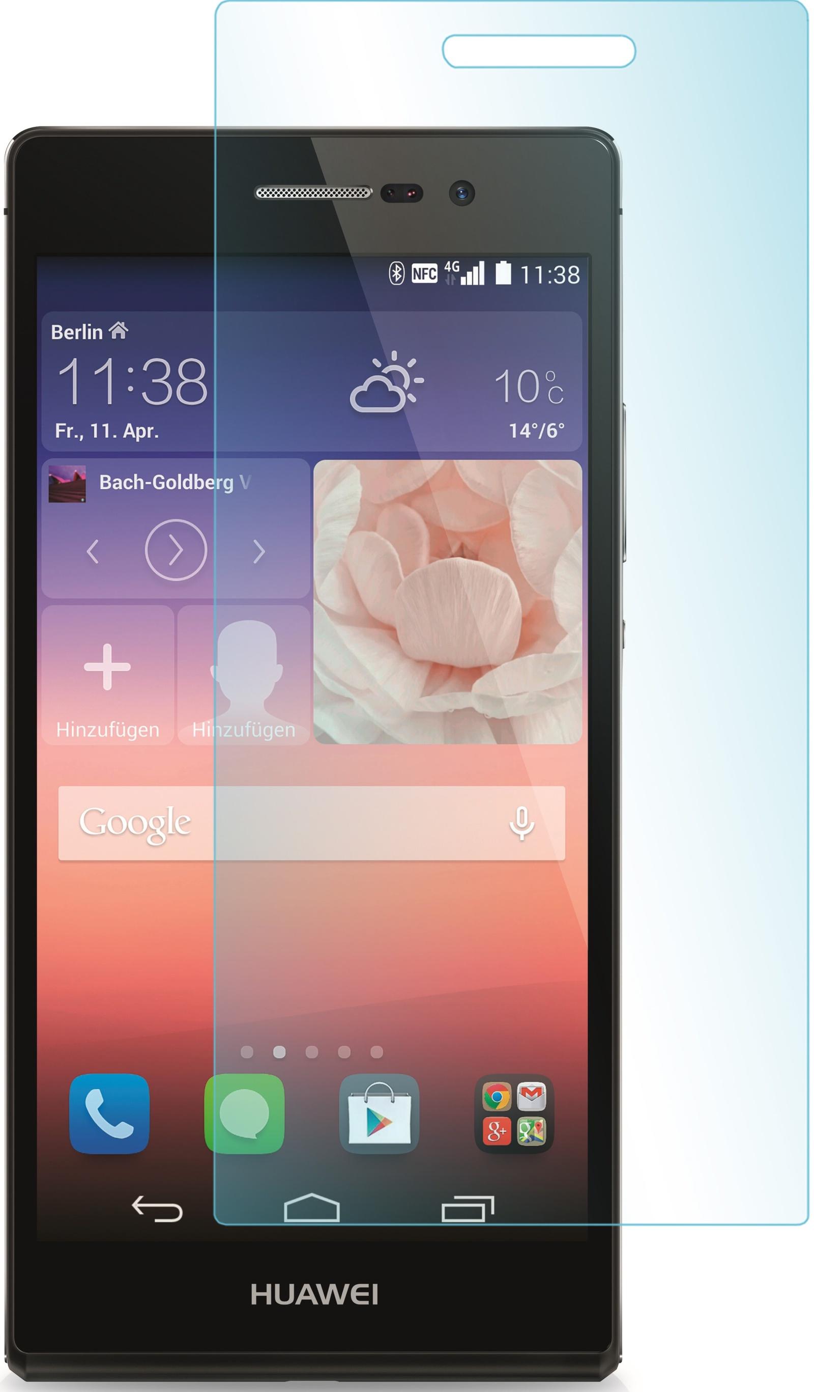 Защитное стекло skinBOX для Huawei P7, 2000000062105, глянцевое стоимость