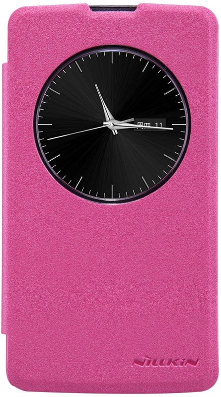 Чехол Nillkin для LG D295, 6956473221142, розовый цена