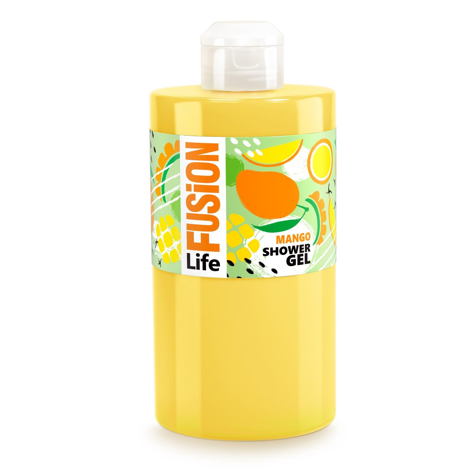 Гель для душа Fusion Life Экзотический манго, 460 мл