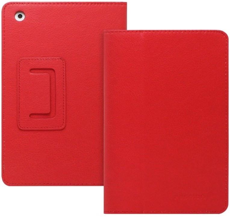 Чехол skinBOX для Asus ME400C, 4630042521476, красный skinbox обложка skinbox standard для планшета asus vivotab smart me400c выполнена из качественной экокожи