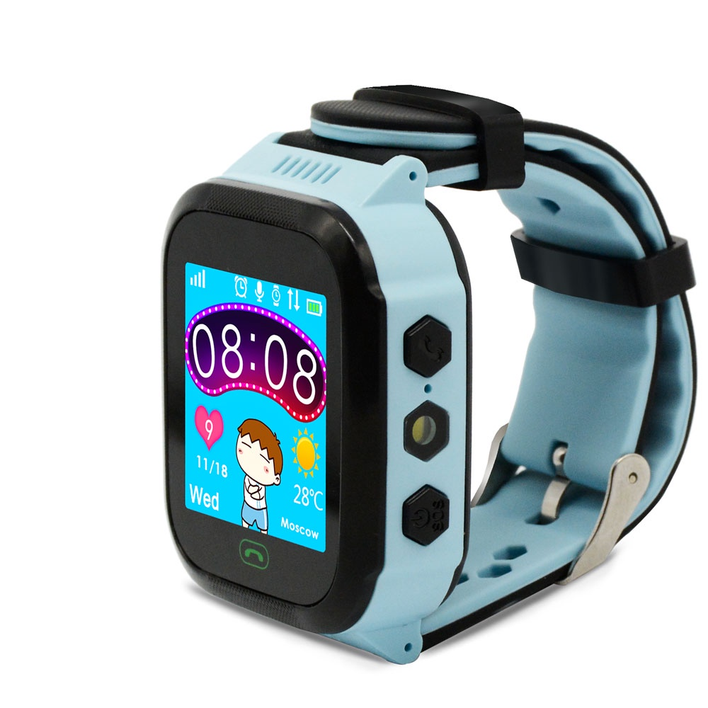 Умные часы Ginzzu GZ-502 17078, детские, blue цена и фото
