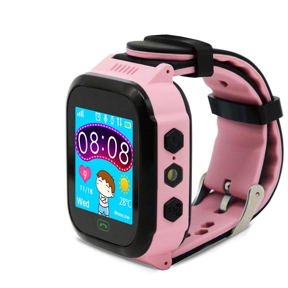 Умные часы Ginzzu GZ-502 17079, детские, pink цена и фото