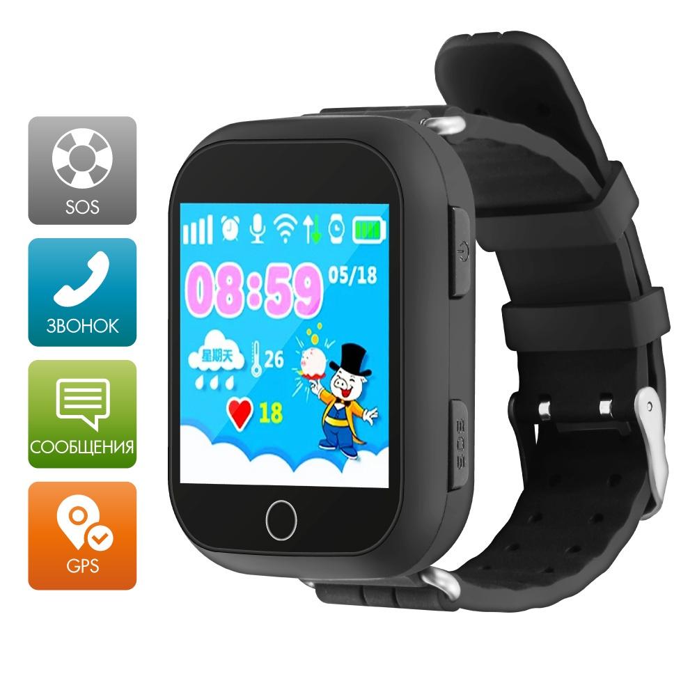 Умные часы Ginzzu GZ-503 13419, детские, black цена и фото