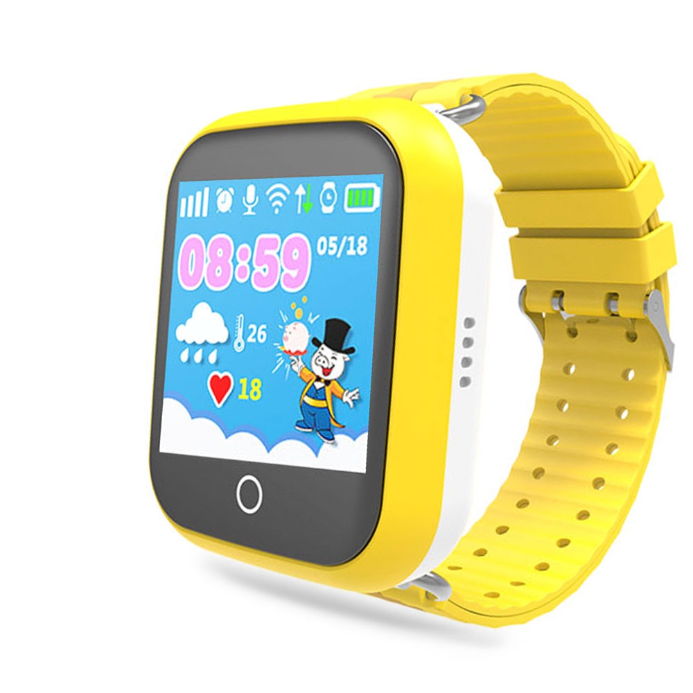 Умные часы Ginzzu GZ-503 17085, детские, yellow цена и фото