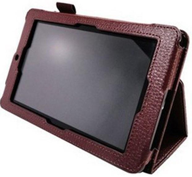 Чехол для планшета skinBOX для Asus ME172, 2000000005881, коричневый skinbox обложка skinbox standard для планшета asus vivotab smart me400c выполнена из качественной экокожи