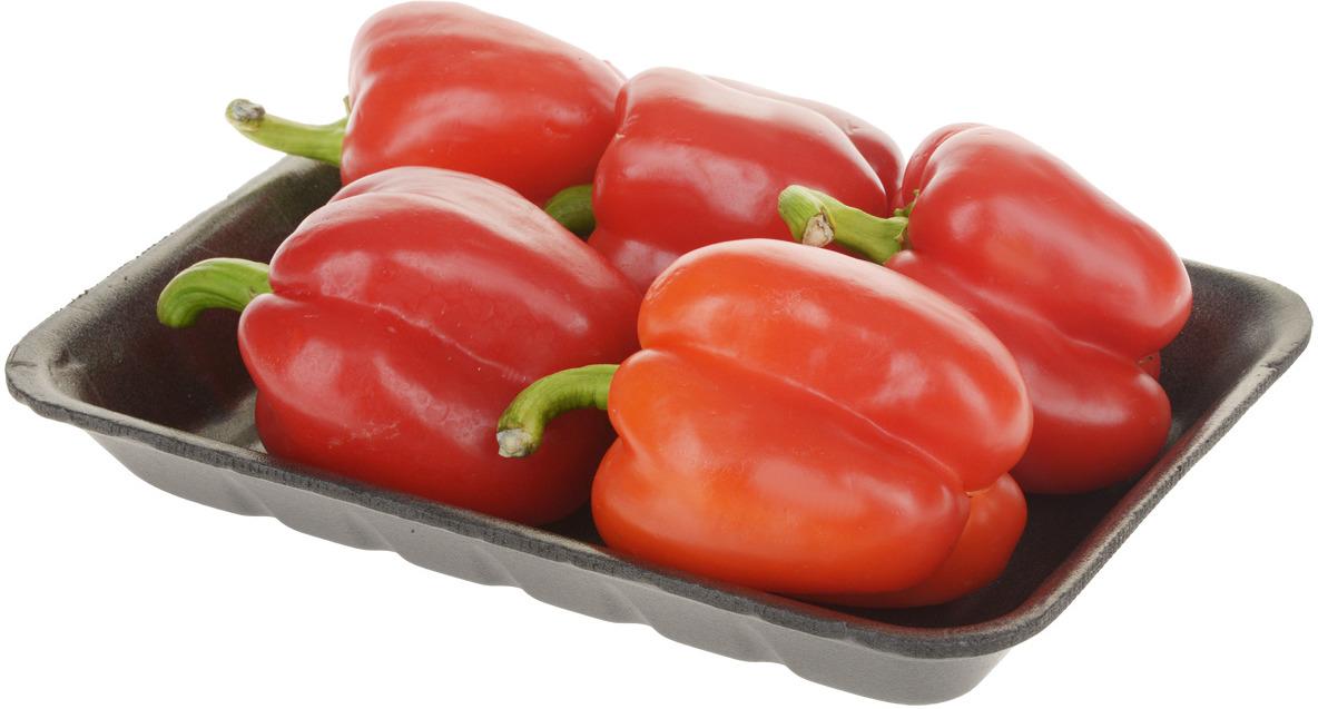 Перец красный, фасованная упаковка Перец красный сладкий имеет яркую...