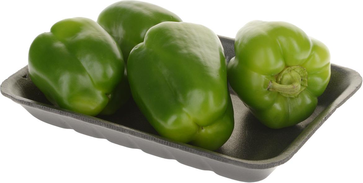Перец зеленый, упаковка Перец зеленый сладкий имеет яркую...
