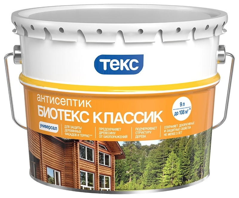 Антисептик ТЕКС Классик УНИВЕРСАЛ тик 9л, 700008168 цена и фото