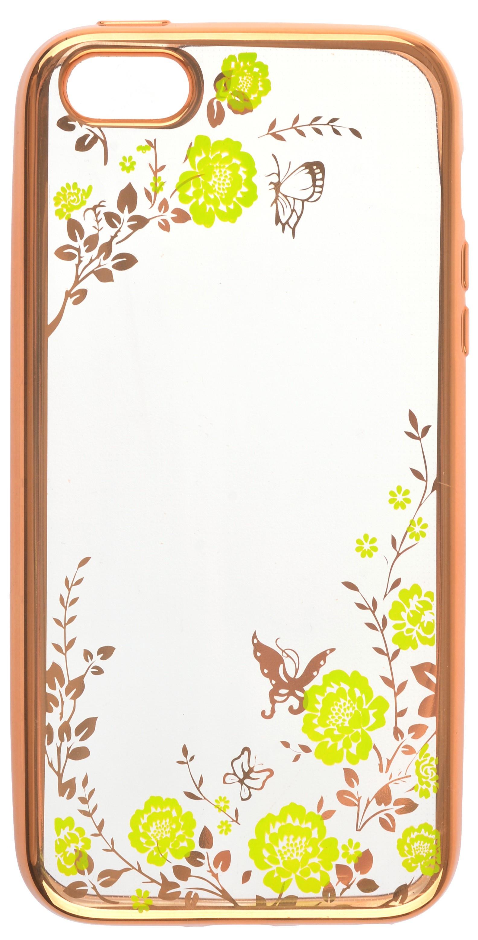 Накладка skinBOX для Apple Iphone 5/5S, 2000000111933, зеленый booratino деревянная накладка для iphone 5 5s орех