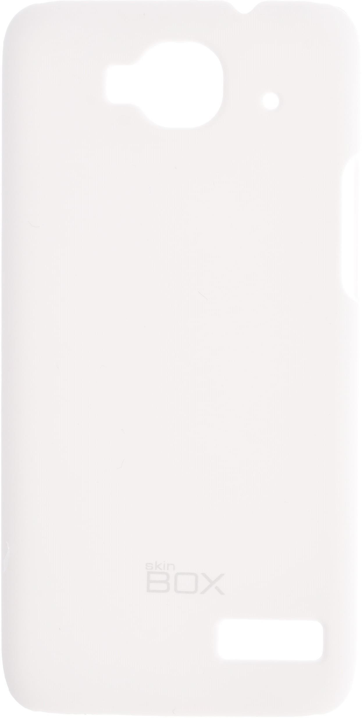 Накладка skinBOX для Alcatel6012D, 2000000074160, белый чехлы для телефонов skinbox flip slim skinbox alcatel 4024d pixi