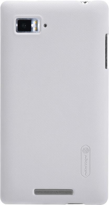 Чехол для сотового телефона Nillkin Super Frosted, 6956473272380, белый чехол для lenovo ideaphone k910 vibe z ibox premium black