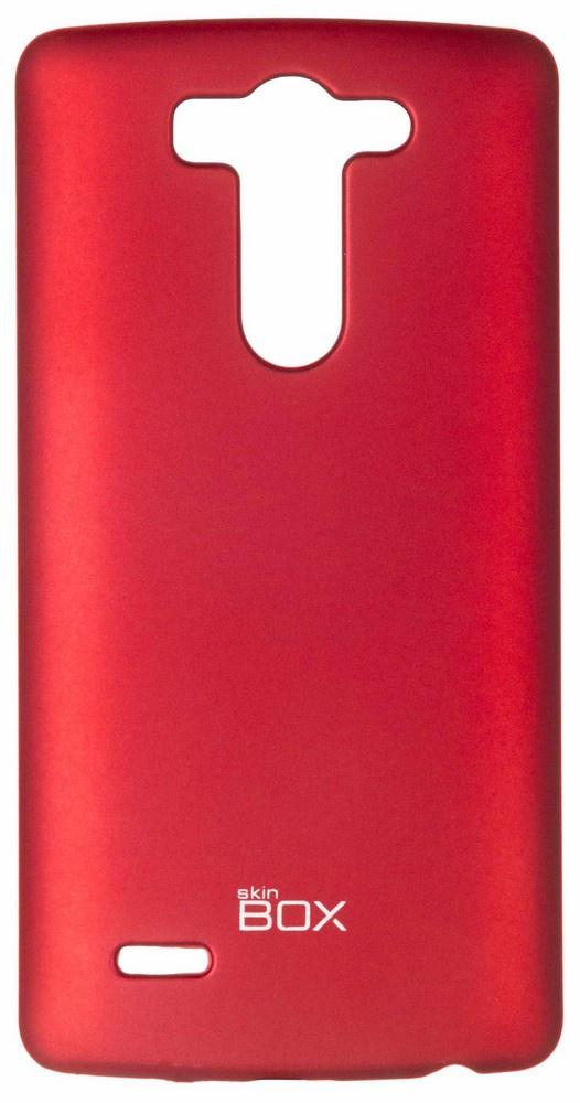 Накладка skinBOX для LG G3 mini (G3s), 2000000061498, красный аккумулятор для телефона ibatt bl 53yh для lg d855 g3 d690 d690 g3 stylus d851 g3 d850 g3 d856 lg g3 dual lte vs985 g3 ls990 g3 d690n f400 g3 aka