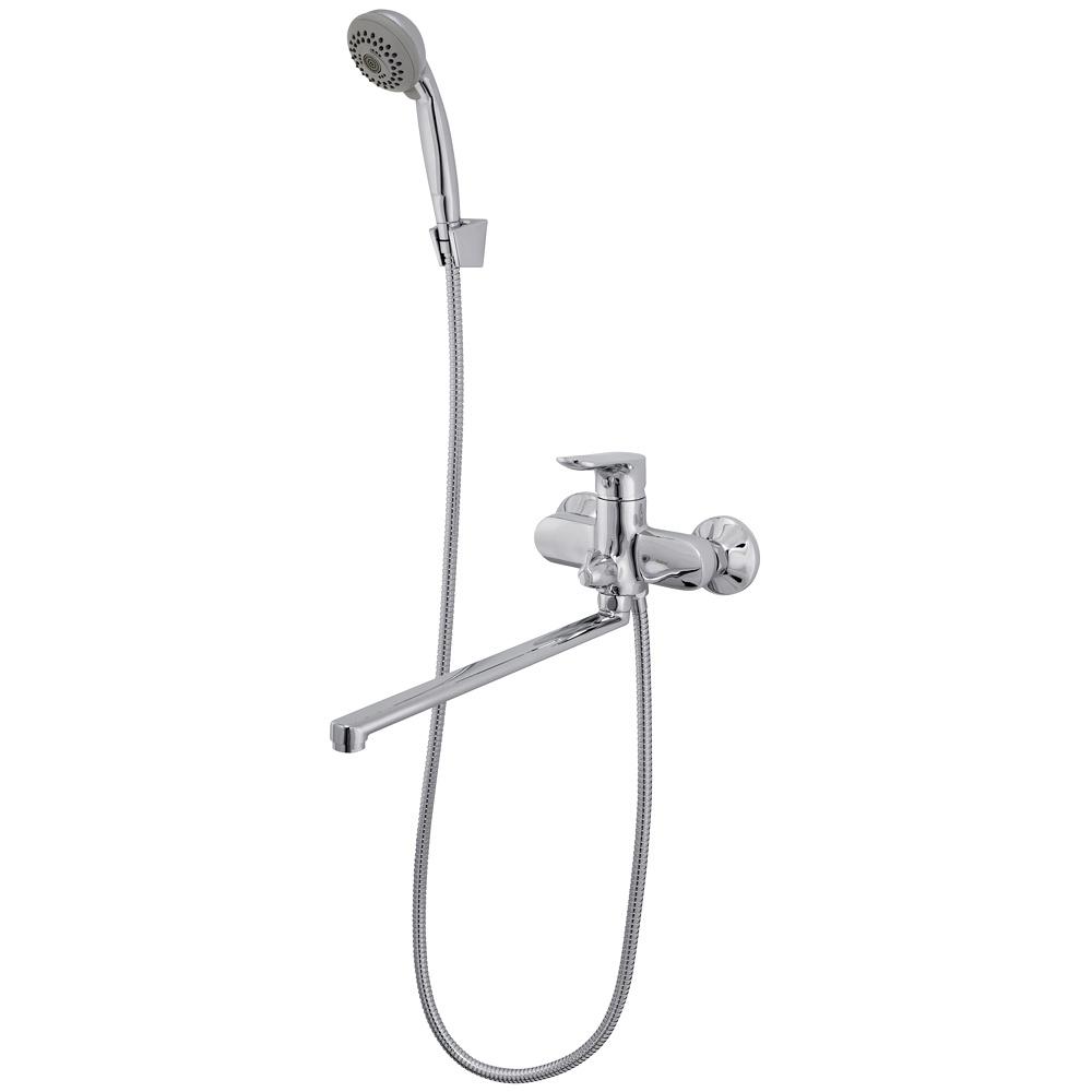 Смеситель для ванны однорычажный Raiber Primo, R5002 набор для биде лейка и шланг raiber r809