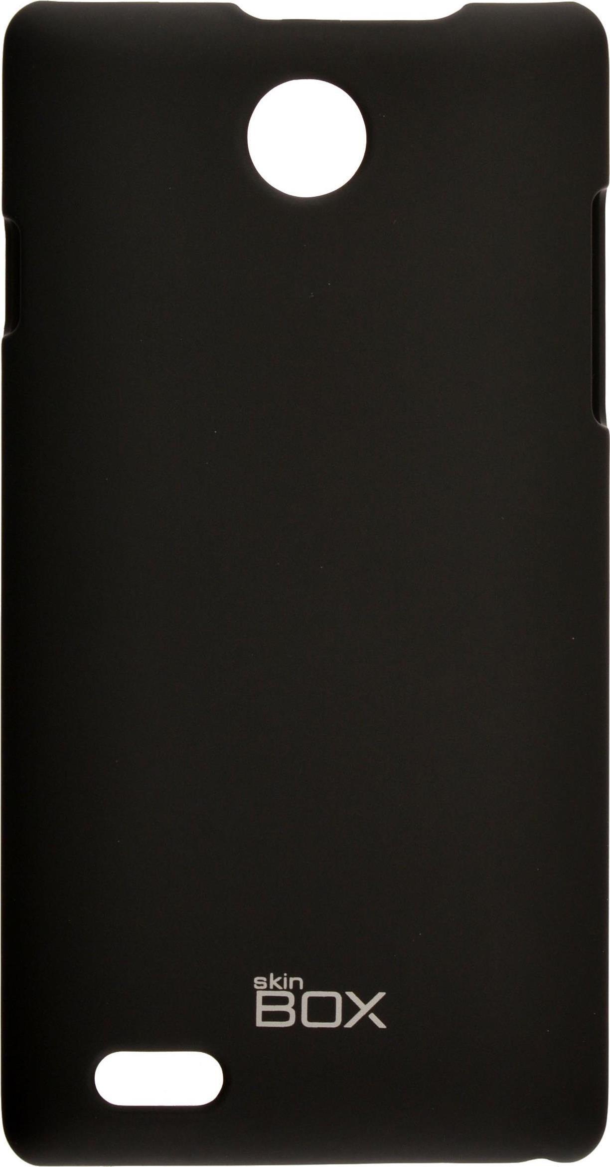 Накладка skinBOX для ZTE v815W, 2000000063966, черный стоимость