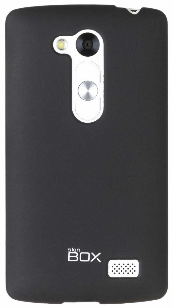 Накладка skinBOX для LG Fino, 2000000063218, черный накладка skinbox для lg g4s 2000000079226 черный