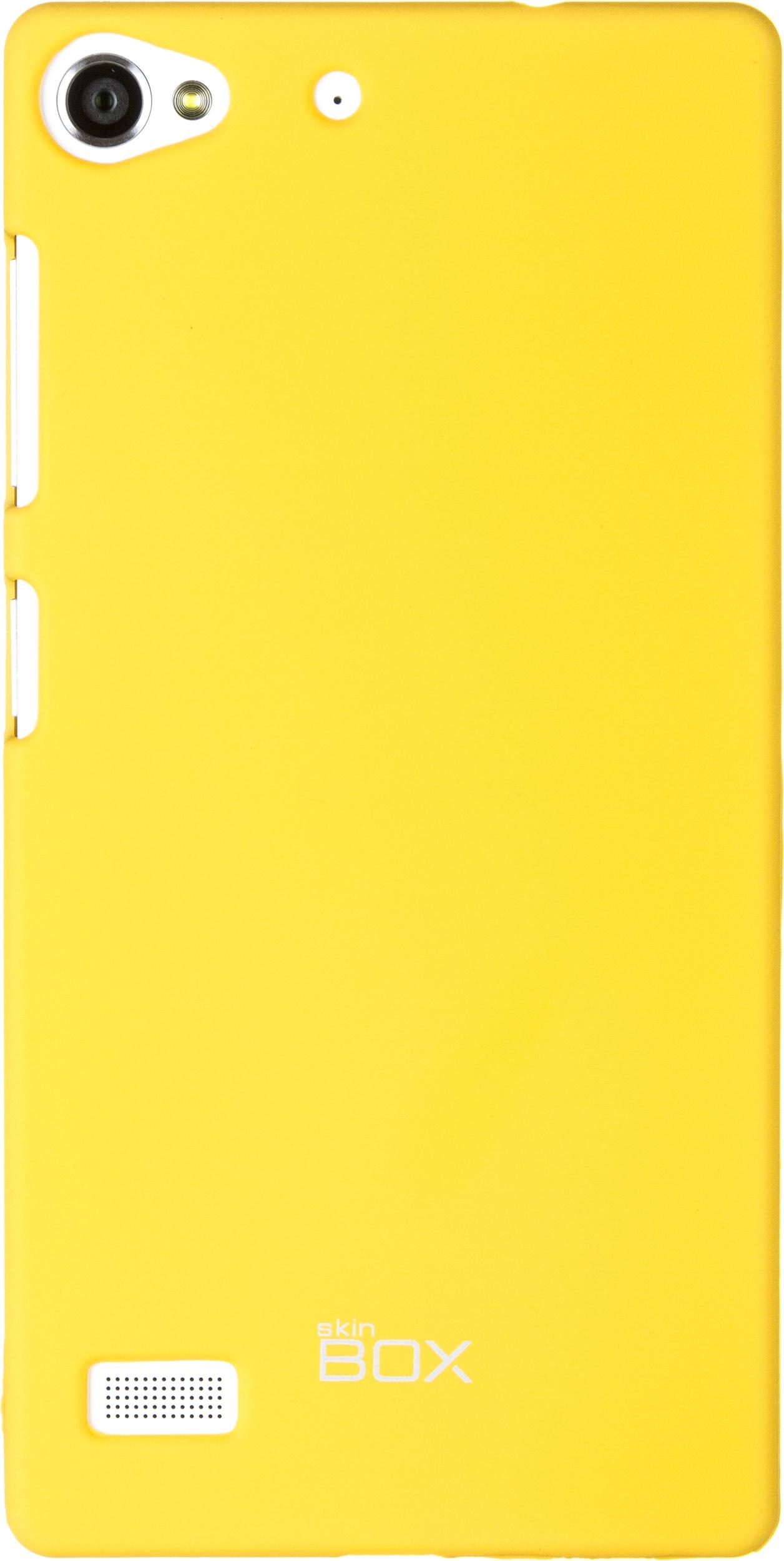 Накладка skinBOX для Lenovo VIBE X2, 2000000063478, желтый
