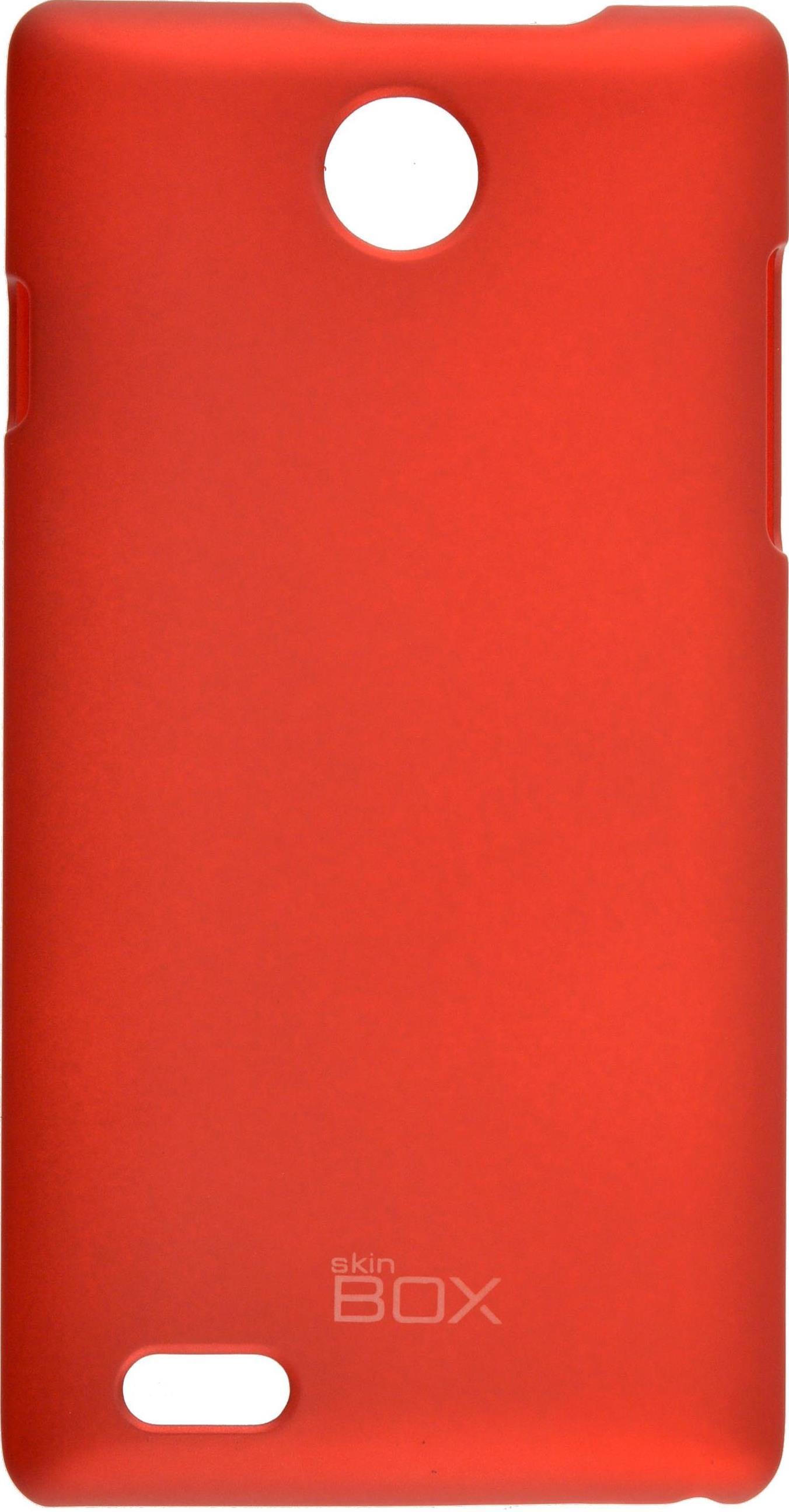 Накладка skinBOX для ZTE v815W, 2000000074658, красный стоимость