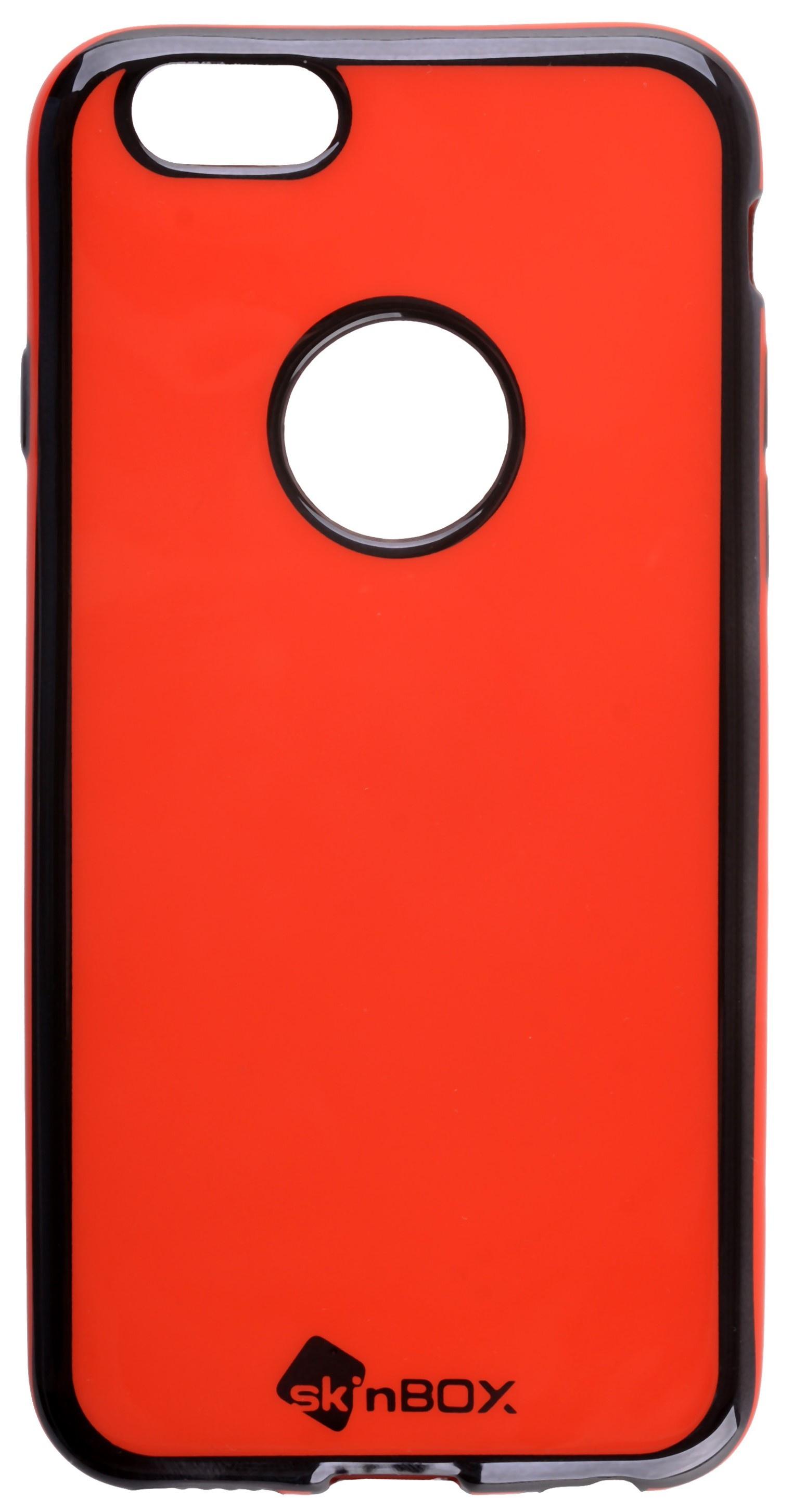 Накладка skinBOX для Apple Iphone 6/6S, 2000000132792, красный