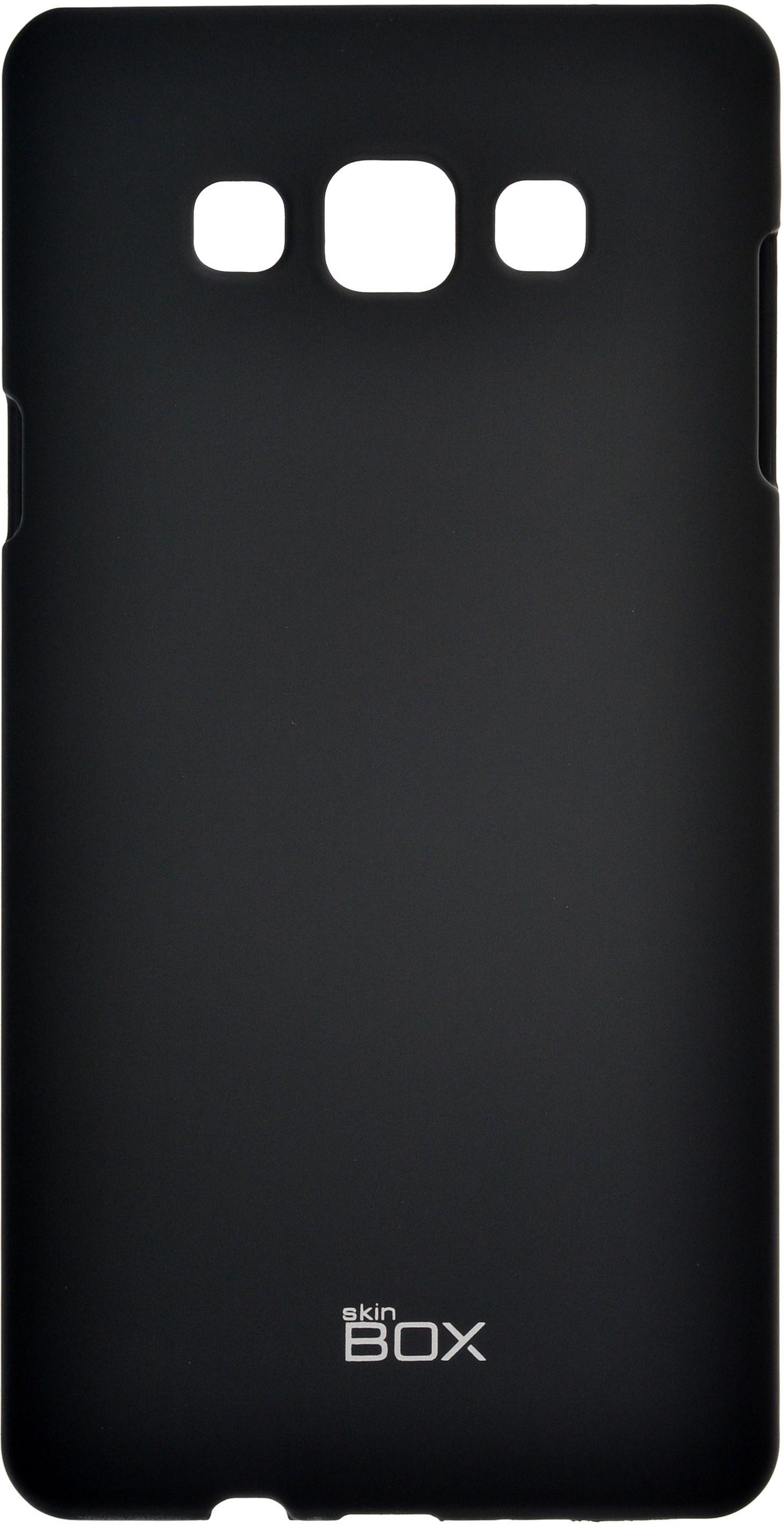 Накладка skinBOX для Samsung Galaxy A7, 2000000060538, черный чехол для samsung galaxy s4 printio my space