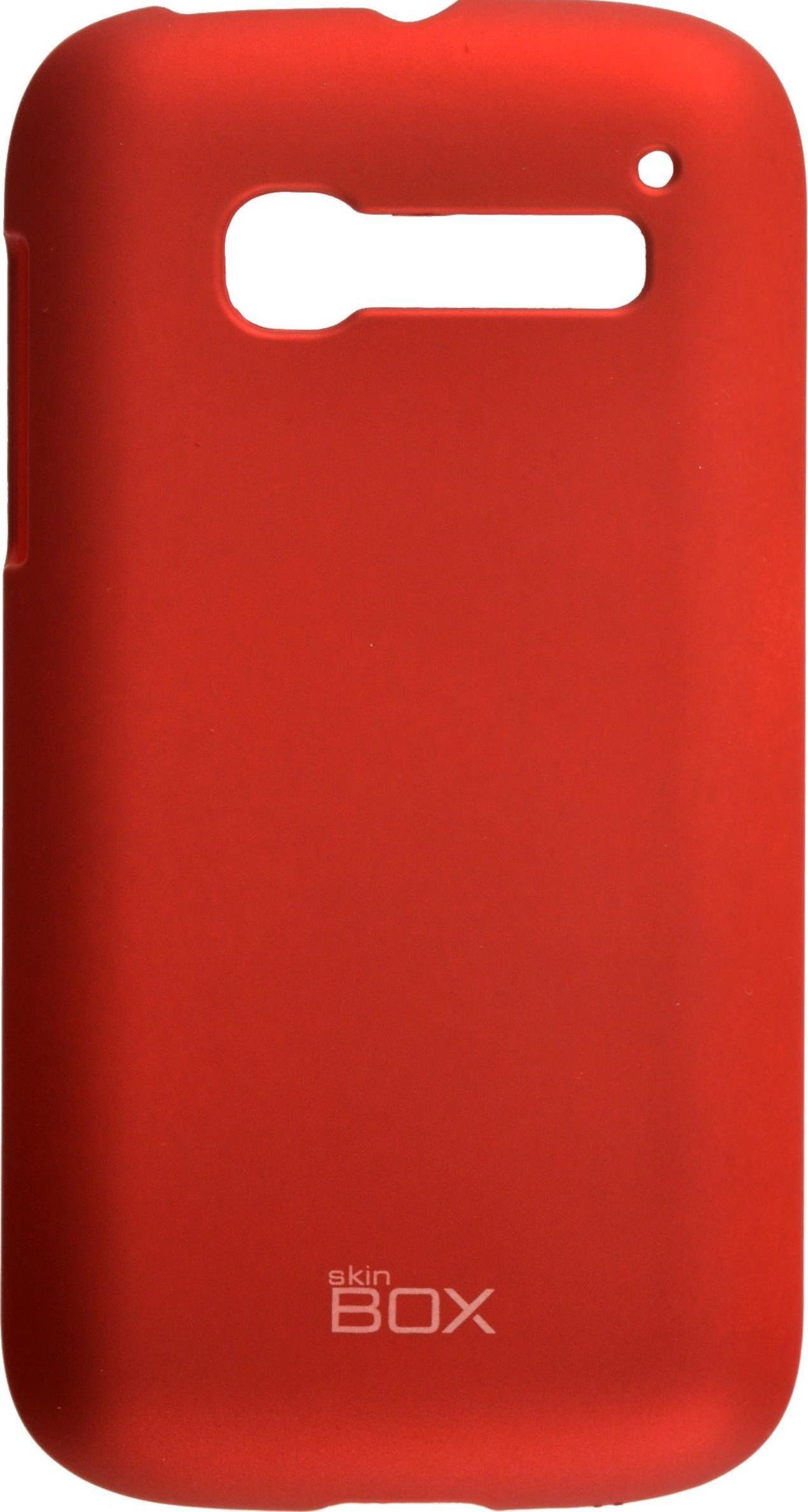 Накладка skinBOX для Alcatel5036D, 2000000074139, красный чехлы для телефонов skinbox flip slim skinbox alcatel 4024d pixi