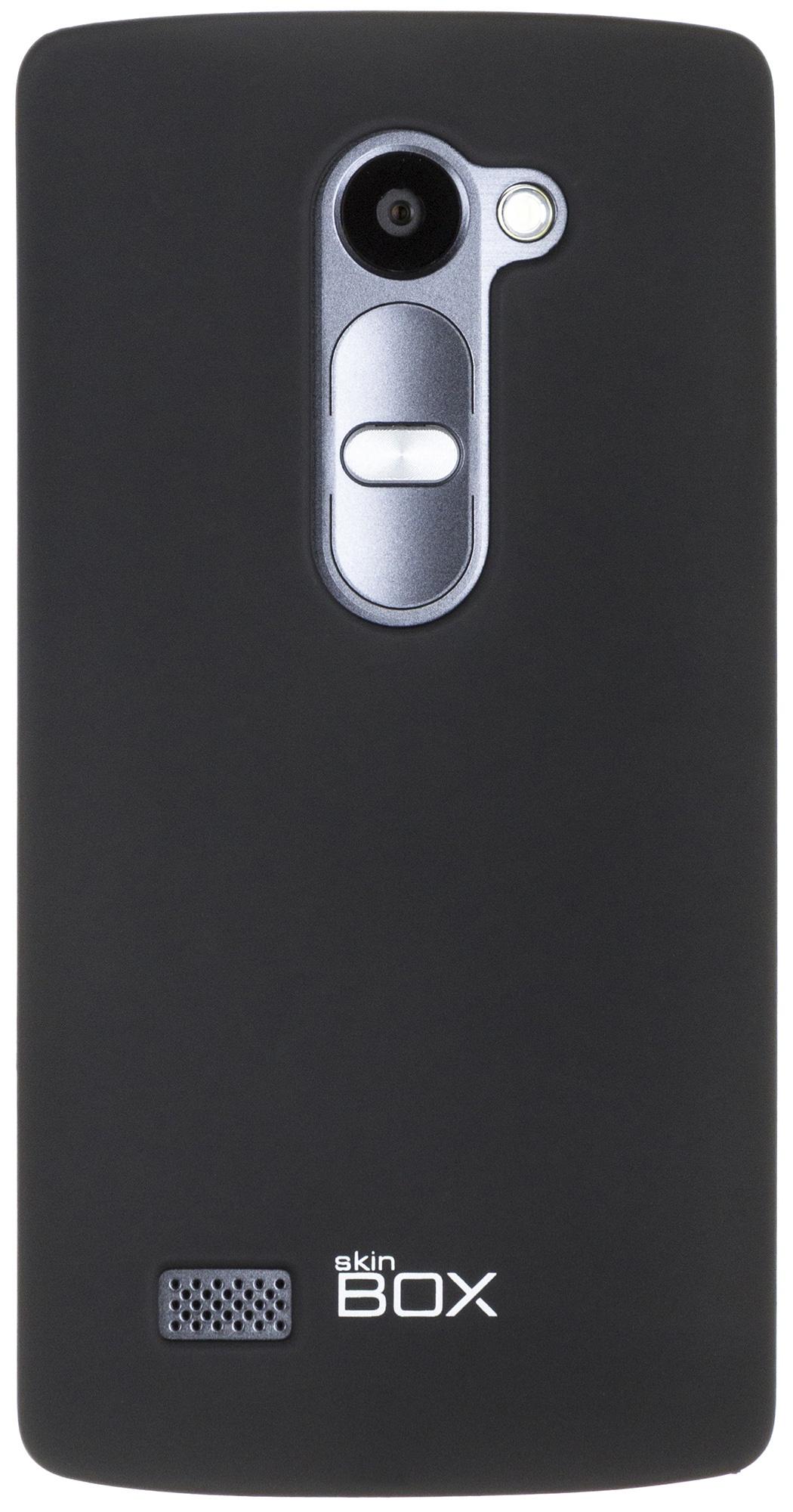 Накладка skinBOX для LG Leon, 2000000074030, черный
