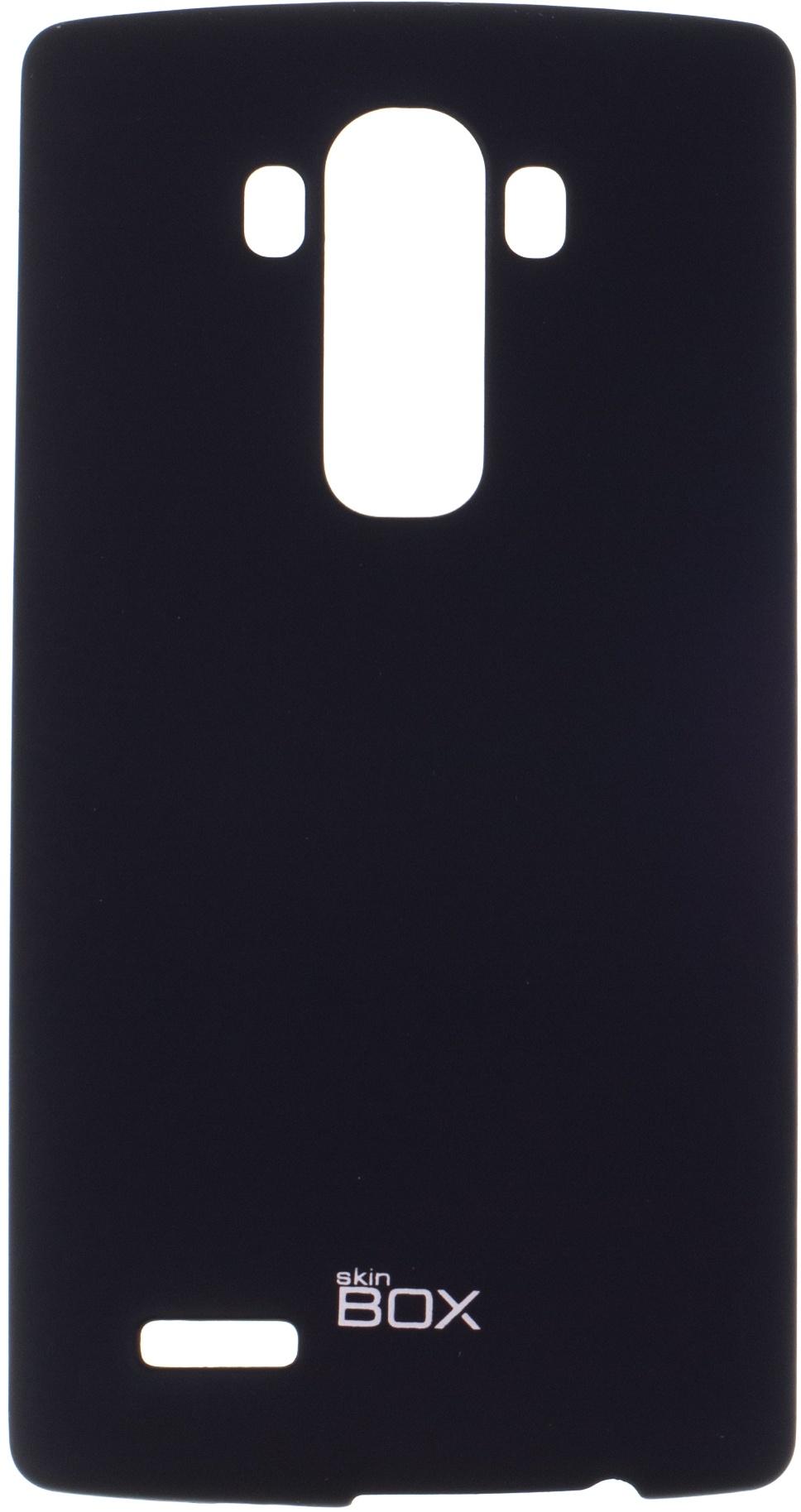 Накладка skinBOX для LG G4, 2000000076430, черный накладка skinbox для lg g4s 2000000079226 черный