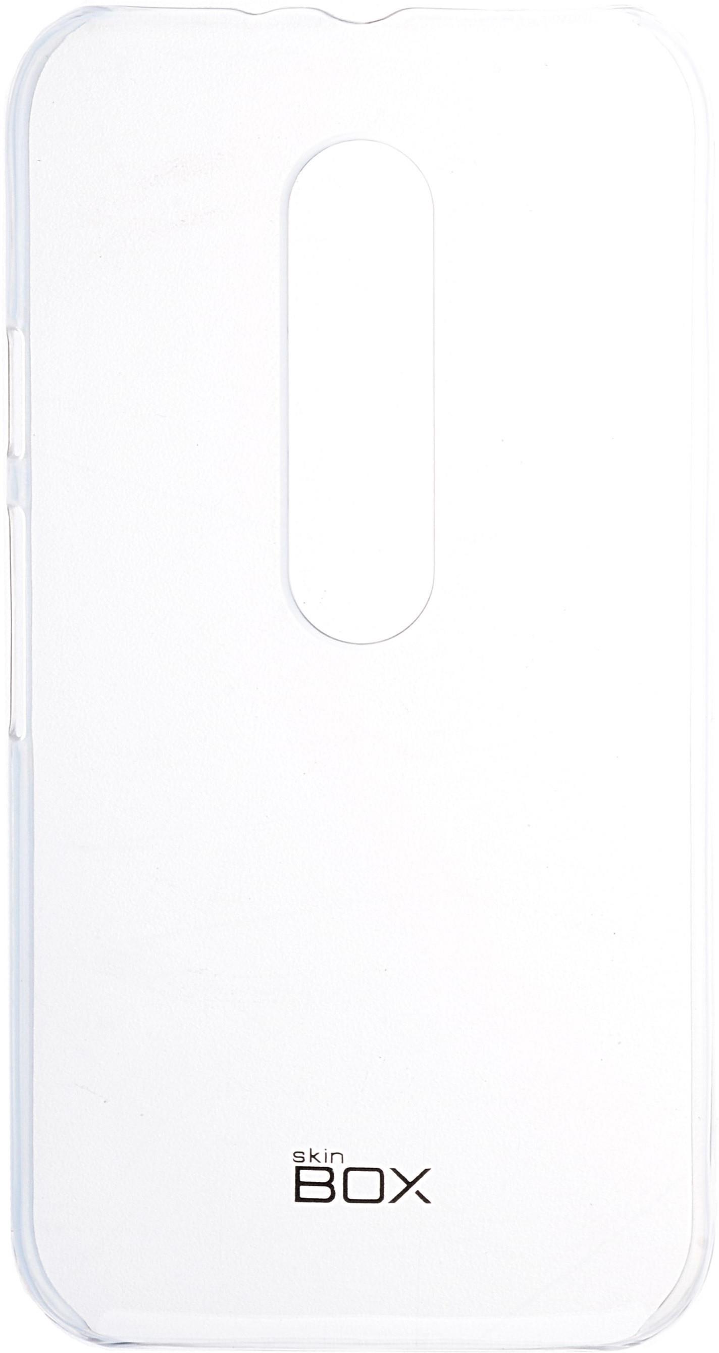 Накладка skinBOX для Motorola Moto G, 2000000091761, прозрачный недорго, оригинальная цена
