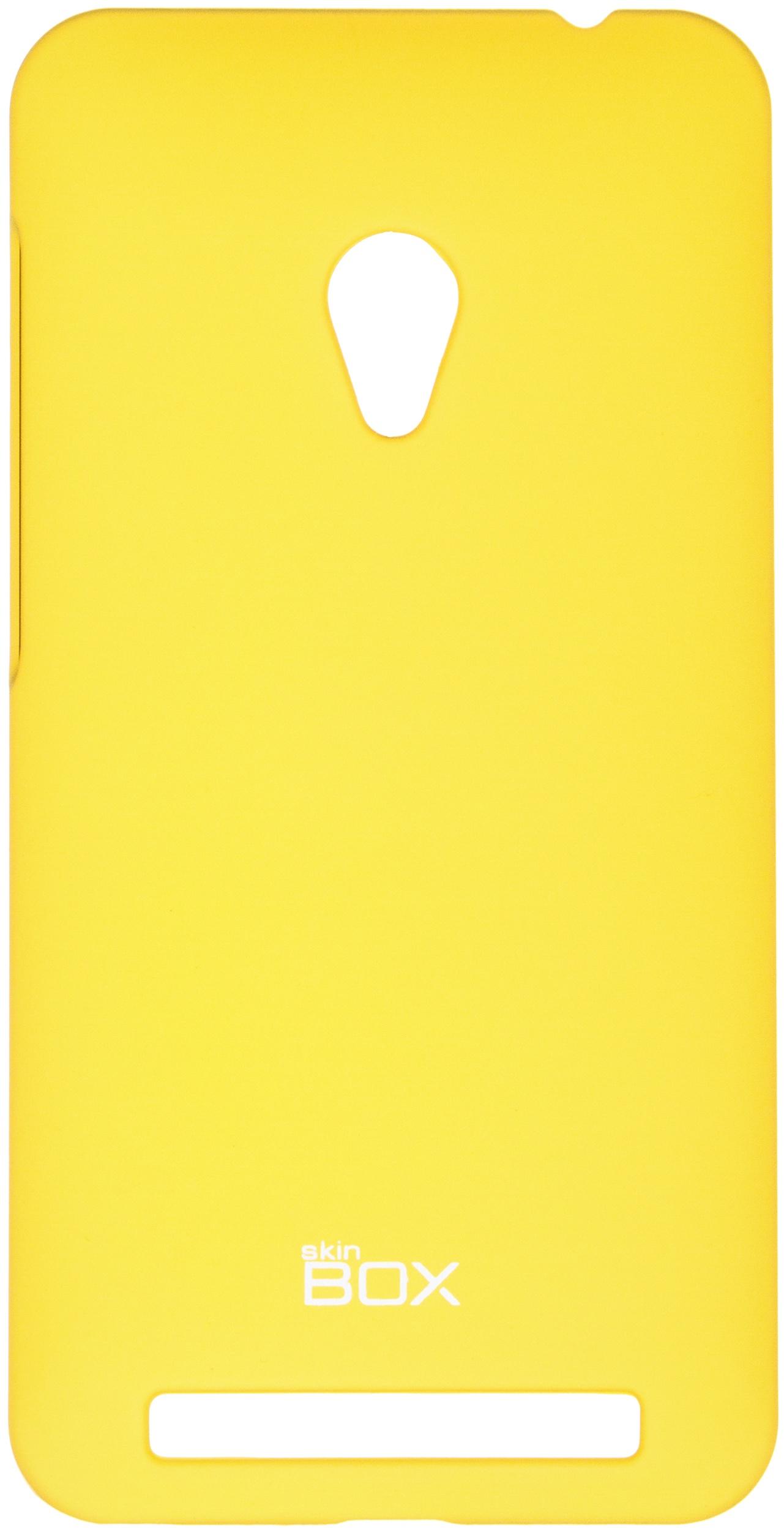 Накладка skinBOX для Asus A450CG, 2000000063263, желтый чехлы накладки для телефонов кпк asus a450cg zenfone4 a450cg 4 5