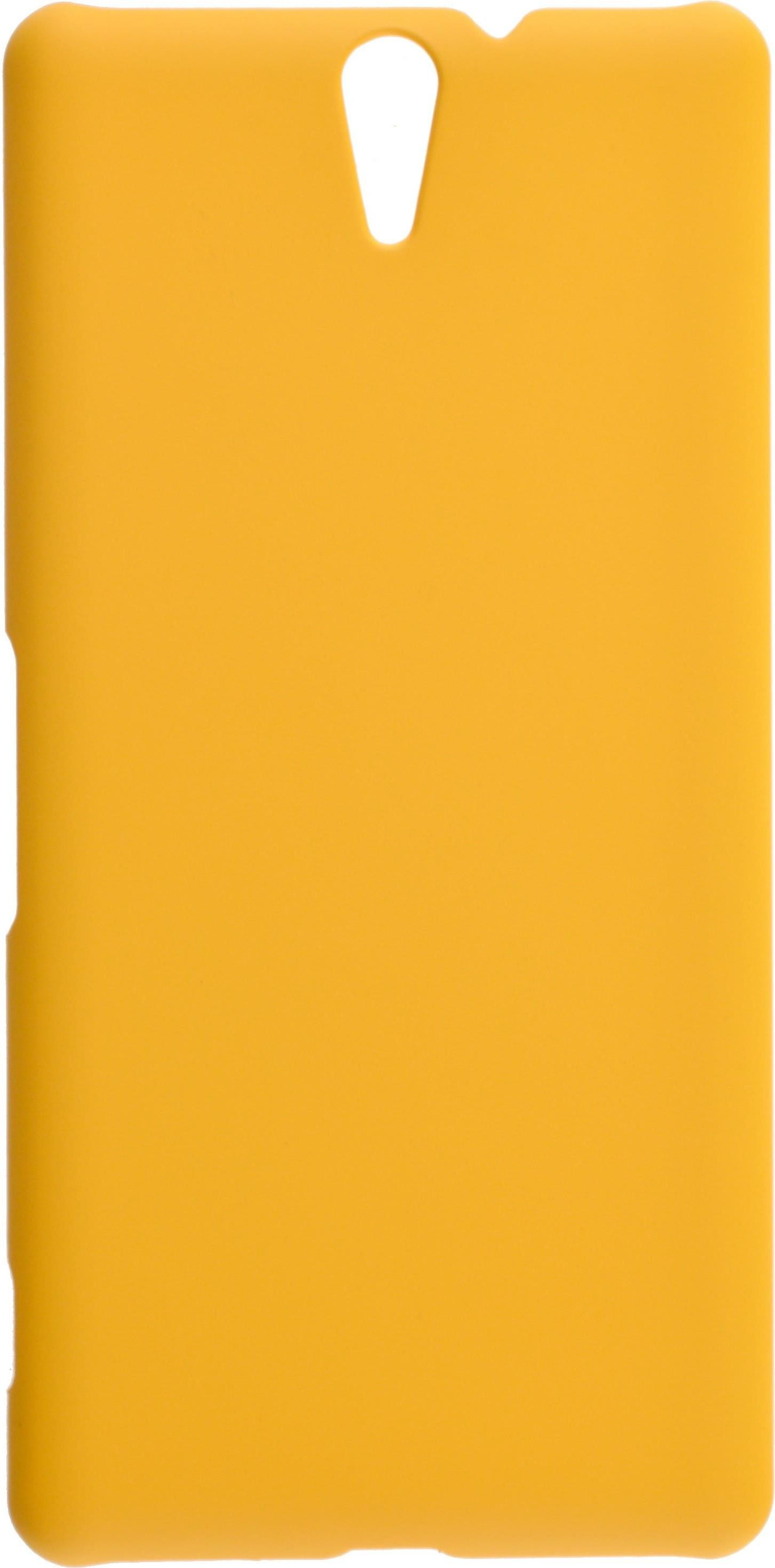 Накладка skinBOX для Sony Xperia C5 Ultra, 2000000082929, желтый skinbox 4people чехол для sony xperia c5 ultra yellow