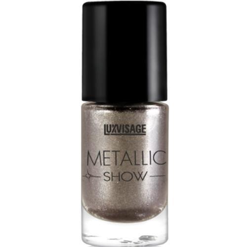 Лак для ногтей LUXVISAGE Metallic Show, тон 302, 9 г00-000328167 стильных оттенков с непревзойденной текстурой для создания роскошного эффекта металлика на Ваших ногтях! В текстуре новых лаков содержатся особые микрочастицы (3D пудра), создающие восхитительный зеркальный глянец на поверхности ногтей, похожий на блеск хромированного металла.