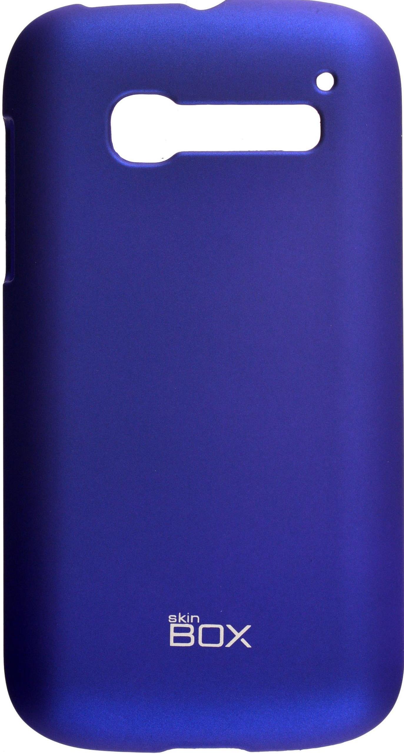 Накладка skinBOX для Alcatel5036D, 2000000074146, синий чехлы для телефонов skinbox flip slim skinbox alcatel 4024d pixi