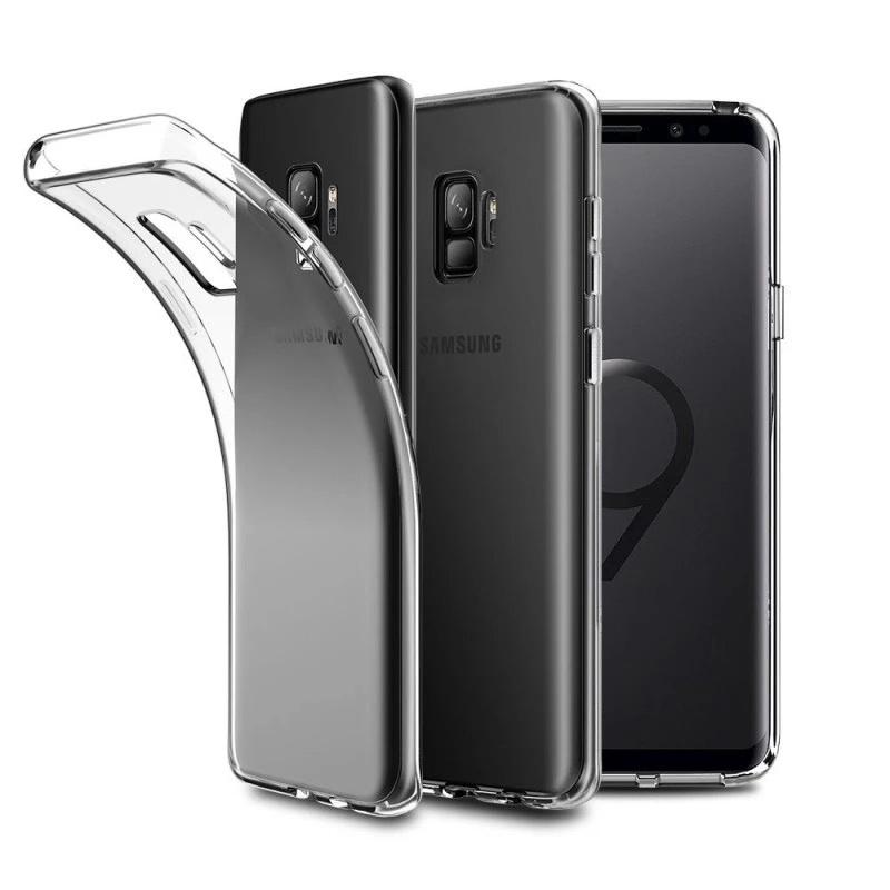 Чехол/бампер Yoho для Samsung Galaxy S9, YCHSS9QC, прозрачный