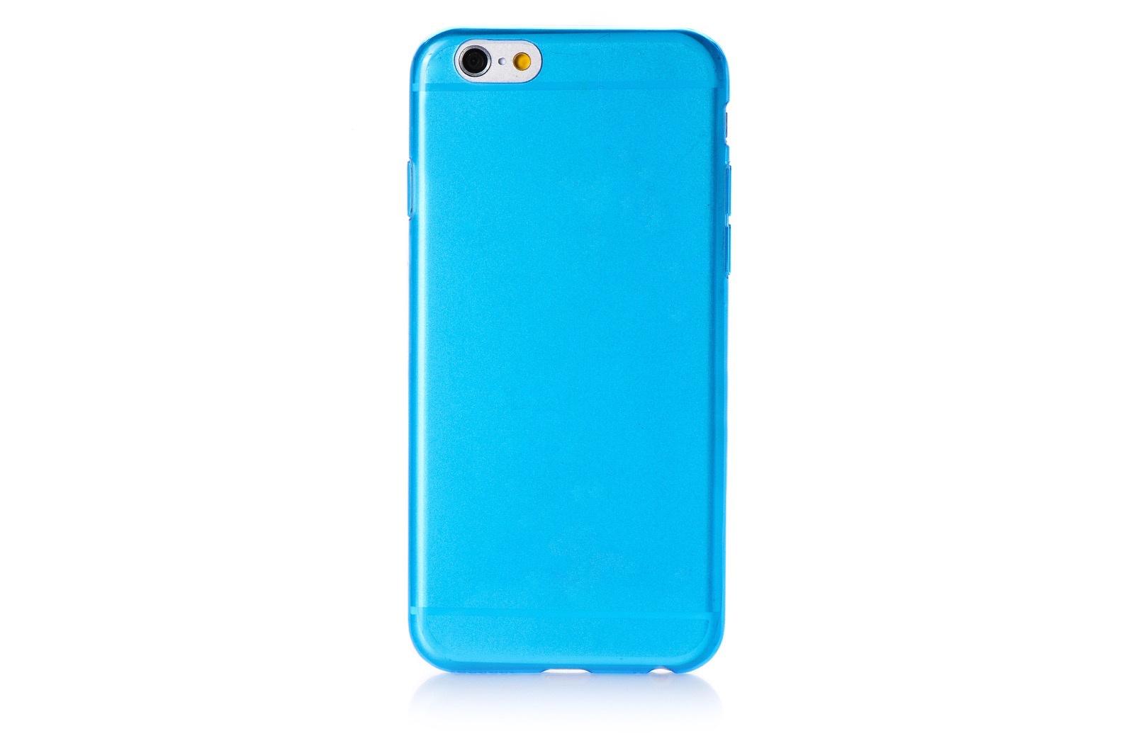 "Чехол для сотового телефона Gurdini Чехол накладка iPhone 6/6S 4.7"" Gurdini силикон 0.3 глянцевый, 580027, голубой"