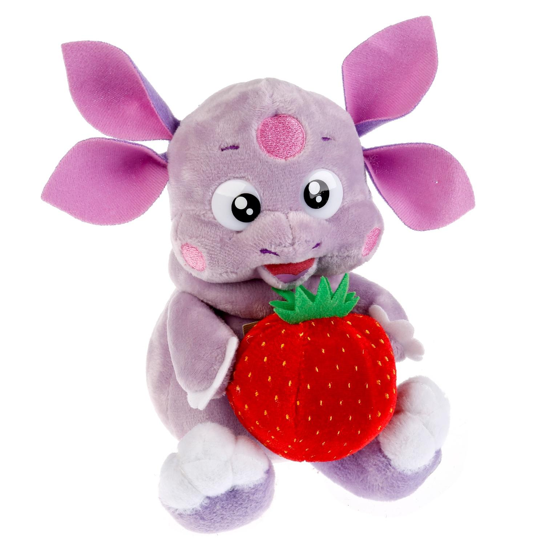 Мягкая игрушка Мульти-пульти Лунтик с клубничкой, 16 см мульти пульти мягкая игрушка мульти пульти лунтик 18 см