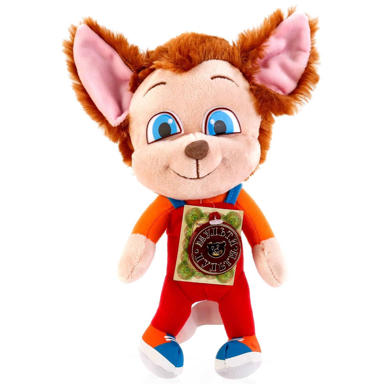 Мягкая игрушка Мульти-пульти Барбоскины. Малыш, озвученая, 21 см252913Мягкая игрушка Малыш - это самый весёлый персонаж из популярного мультсериала Барбоскины. Он одет в красный комбинезончик, приятный на ощупь и оснащен звуковым модулем, вшитым внутрь. При нажатии на животик игрушка споёт 1 песню и произнесёт 6 фраз на русском языке. Малыш изготовлен полностью из безопасного, экологичного плюша, поэтому не вызовет аллергии у малышей. Учит ребёнка быть внимательным и заботливым, развивает воображение и слуховое восприятие. Размер 21 см, работает от батареек (входят в комплект). Рекомендуется детям от 3-х лет. Товар лицензирован.